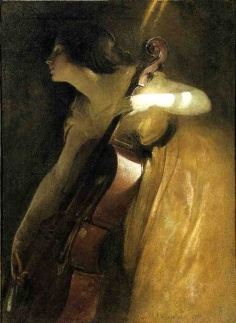A Ray of Sunlight, 1898. John White Alexander